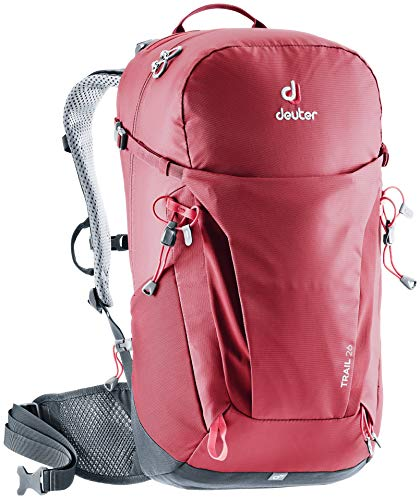Deuter Trail 26 Trekking Backpack, Cranberry-Graphite, 55 cm von Deuter
