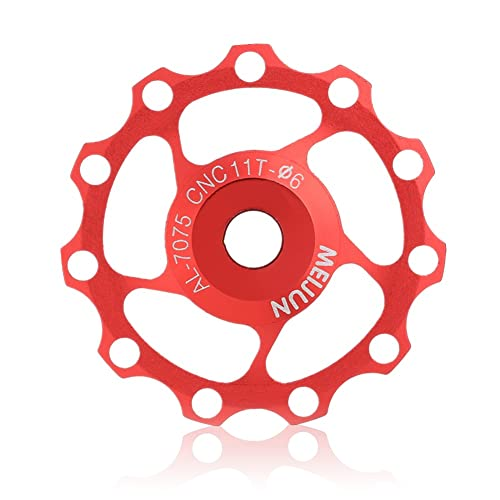 Durable Aluminiumlegierung Bering Mountain Road Fahrrad Schaltwerk Jockey Riemenscheibe 11T 13T Umwerfer Riemenscheibe