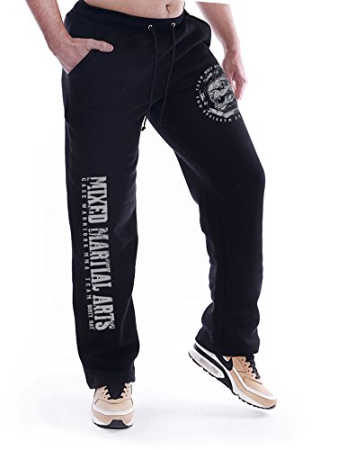 Dirty Ray Kampfsport MMA Fight Division Jogginghose Freizeithose SDMMA2 (XL) von Dirty Ray