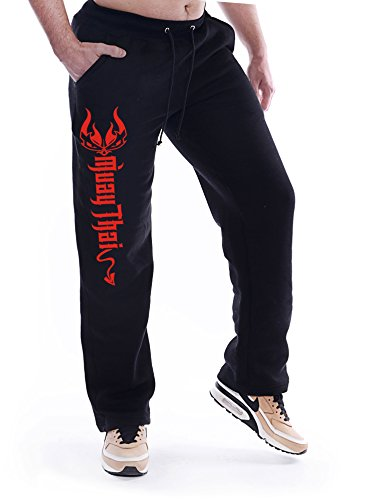 Dirty Ray Kampfsport MMA Muay Thai Jogginghose Freizeithose SDMT2 (L) von Dirty Ray