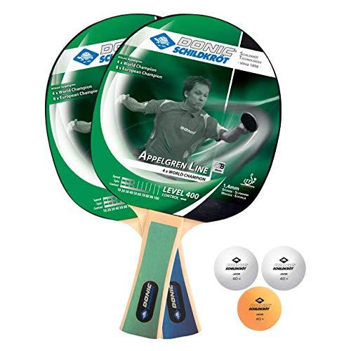 Donic Tischtennis-Set Ovtcharov 400  2 Schläger 788469 3 Bällen NEU