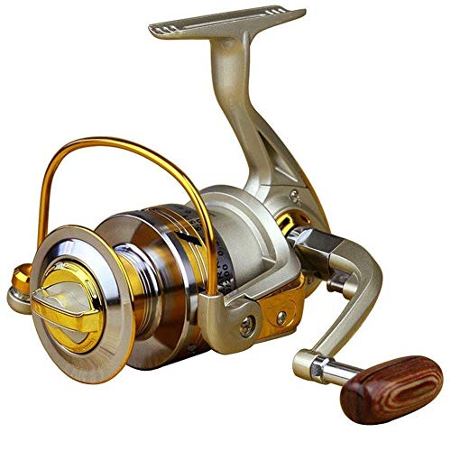 Dosige Angelrolle Rolle Stationärrolle Spinning Reel Vollmetall Aluminium Spinnrolle von Dosige