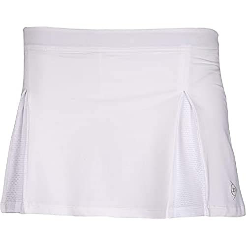 Dunlop Damen Club Line Ladies Skirt, weiß, M von Dunlop Sport