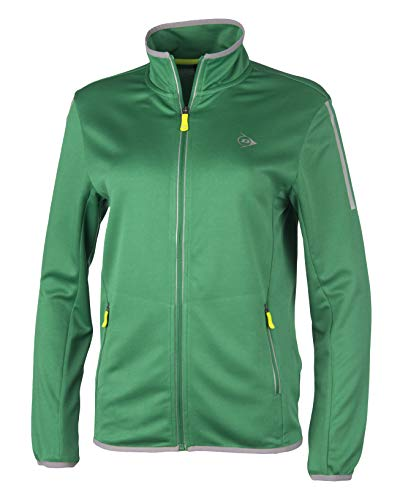 Dunlop Damen Club Line Ladies Knitted Jacket, Green, S von Dunlop Sport