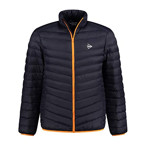 Dunlop Essentials Unisex Sport Jacket, Navy/Orange, XXL von Dunlop Sport
