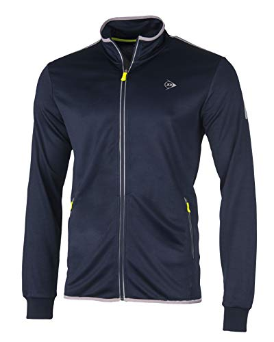 Dunlop Herren Club Line Men Knitted Jacket, Navy, S von Dunlop Sport