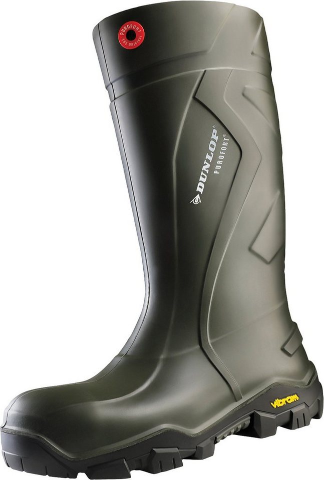 Dunlop »Purofort® + Outlander full safety with Vibram®« Gummistiefel Sicherheitsklasse S5 von Dunlop