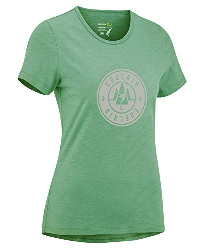 EDELRID Damen Highball T-Shirt, Pine Green, XL von EDELRID