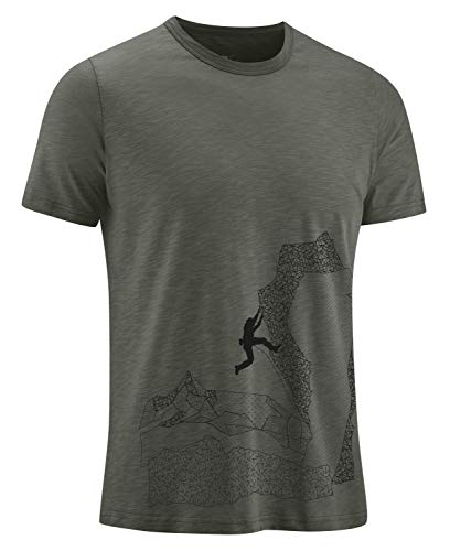 EDELRID Herren Highball T-Shirt, Black Forest, XS von EDELRID