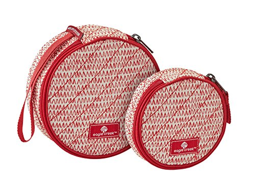Eagle Creek Kofferorganizer Pack-It Original Quilted Circlet Set platzsparende Packtasche für die Reise, repeak red von eagle creek