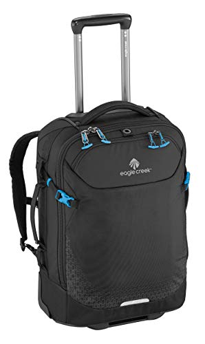 Eagle Creek Rucksack Trolley Expanse Convertibles International Carry-On Handgepäck Laptopfach Koffer, 54 cm, 30 l, schwarz von eagle creek