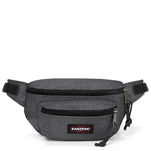 Eastpak Doggy Bag Gürteltasche, 27 cm, 3 L, Grau (Black Denim) von EASTPAK