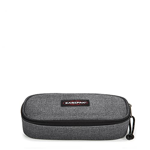 Eastpak Oval Single Federmäppchen, 22 cm, Grau (Black Denim) von Eastpak