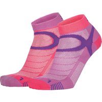 Eightsox Sport Color Edition 2er Pack Socken (Größe 36, 35, 37, 38, Pink) von Eightsox