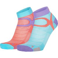 Eightsox Sport Color Edition 2er Pack Socken (Größe 42, 43, 44, Pink) von Eightsox