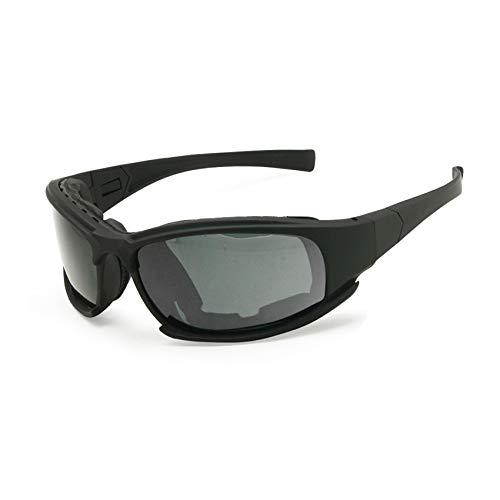 Gänseblümchen C6 Polarisierte Ballistische Armee Sonnenbrille Militär Schutzbrille Rx Einsatz Kampf Krieg Spiel Taktische Gläser (schwarz, Nicht Polarisierten)