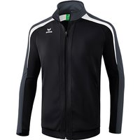 Erima Liga Line 2.0 Trainingsjacke black/dark grey/white 116 von erima