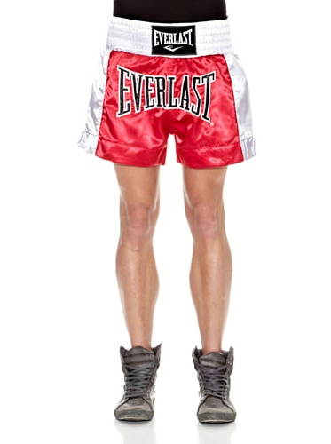 Everlast Herren Hose Mens Thai Boxing, Red/White, L von Everlast