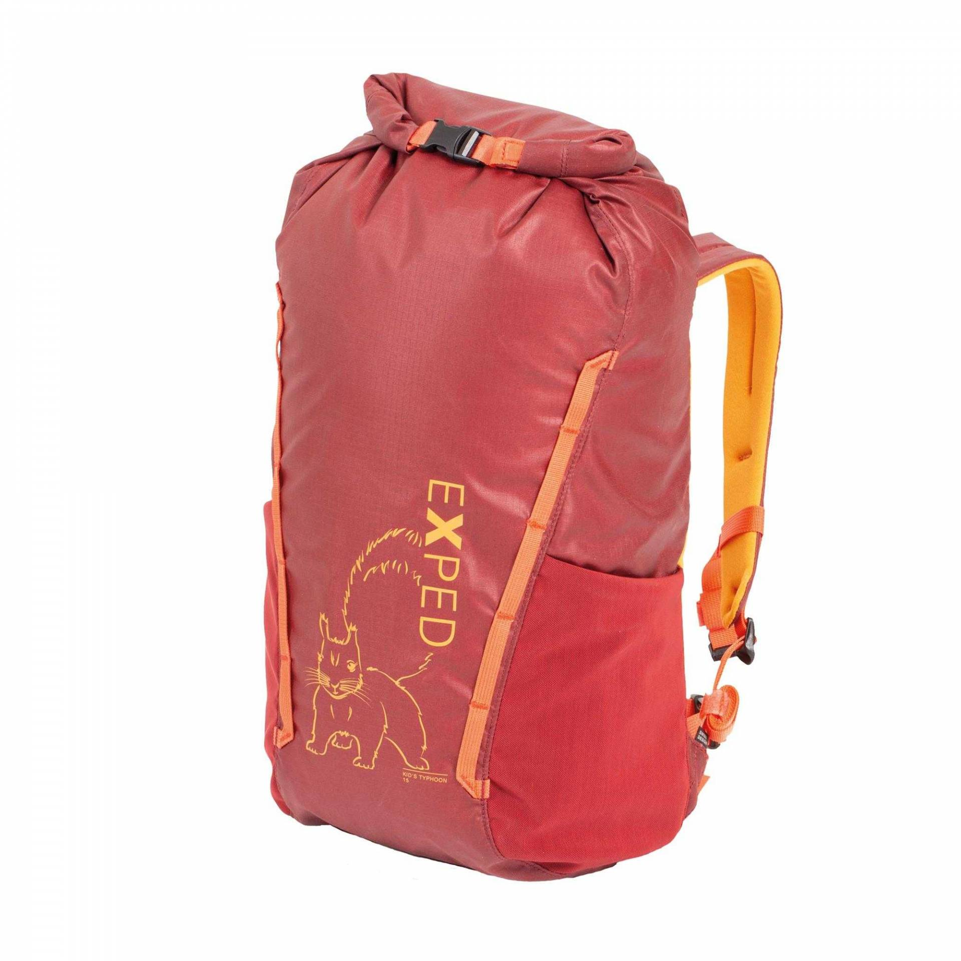 Exped Kid's Typhoon 15 burgundy Kinder-Wanderrucksack rot von Exped