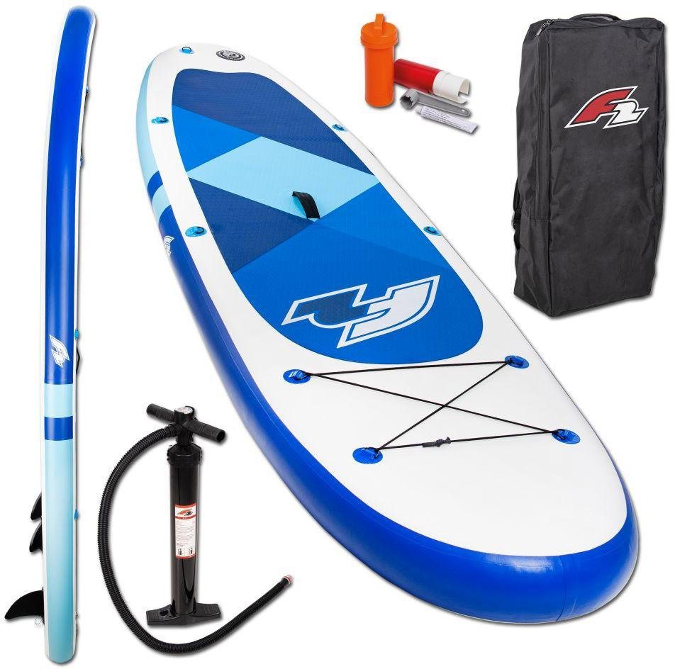 F2 Inflatable SUP-Board »F2 Prime blue«, (Set, 3 tlg) von F2