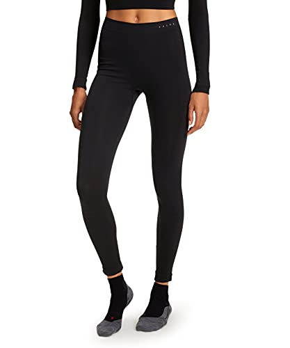 FALKE Damen Unterwäsche Warm Long Tights black, M von FALKE