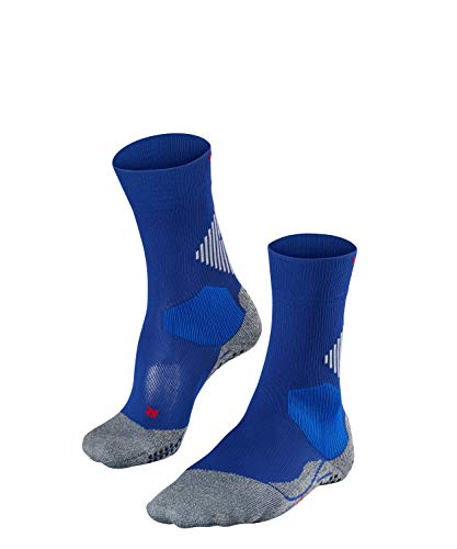 FALKE 4 GRIP U SO Socken, Blau (Athletic Blue 6451), 37-38 von FALKE