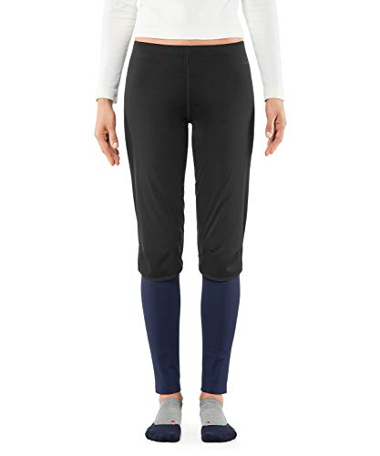 FALKE Damen Tights Windproof Long, Sport Performance Material, 1 Stück, Blau (Dark Night 6177), Größe: L von FALKE