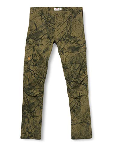 Fjallraven Herren Sport Trousers Barents Pro Hunting Trousers M, Green Camo-Deep Forest, 54, 90222 von Fjallraven