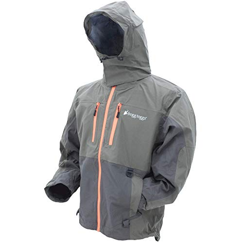 Frogg Toggs Pilot II Guide Rain Jacket, Stone/Taupe, Size X-Large von FROGG TOGGS