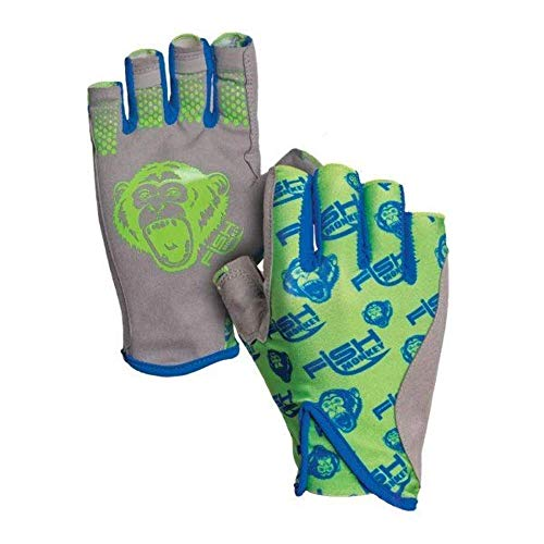 Fish Monkey FM21-NEONGREEN-L Pro 365 Guide Glove Neon Green L von Fish Monkey