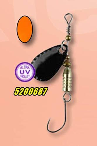 Fishing Tackle Max FTM Mega Masu MR Wobbler 3,5cm 35mm 2,5g UV Camou Pink 5200343 Ultra Light Fischen Forellenangeln Barschangeln