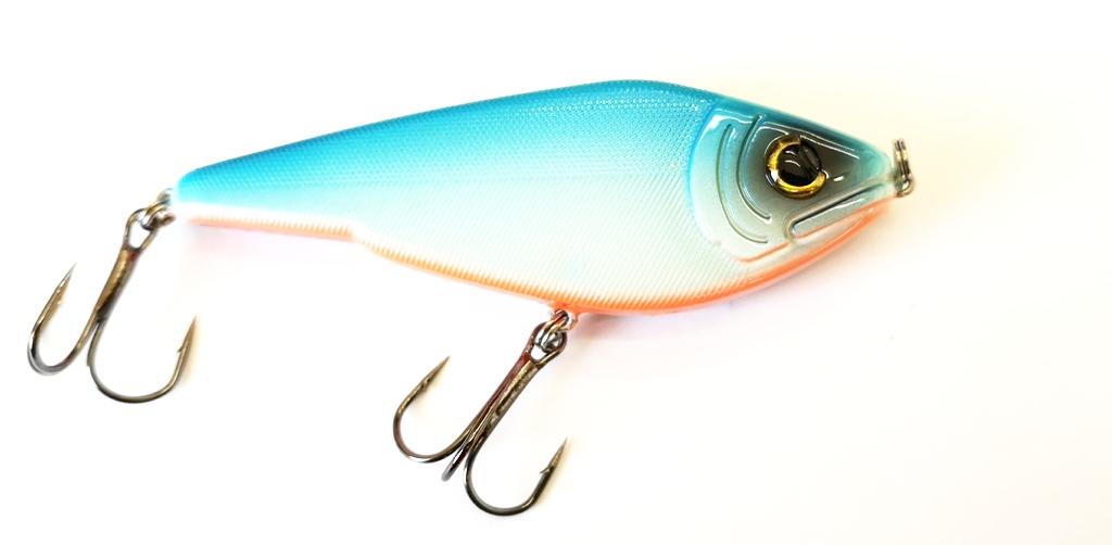 50g Wobbler Kunstköder Jerk Bait Fladen Fishing Warbird Predator Jerkbait 12cm