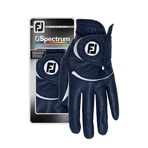 Footjoy Damen Spectrum Golf Handschuh, L blau von Footjoy