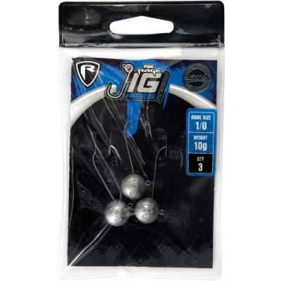 Fox Rage Jig head size 3/0 10g x 3pcs von Fox Rage