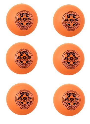 Franklin 6er Set AGS Ball orange von Franklin