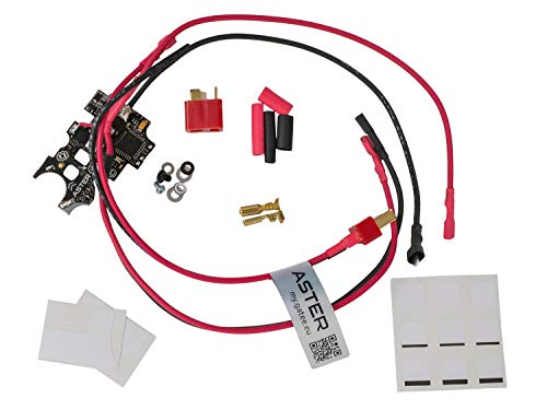 GATE Airsoft Aster V2 Optical EFCS Mosfet, Basic Set für besseren Stromfluss - Front Version von GATE