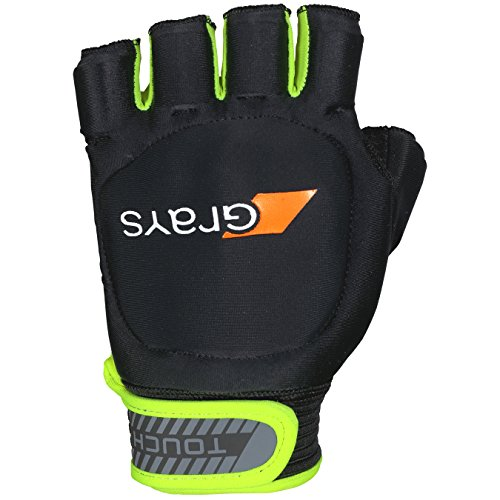 GRAYS Touch Left Handschuhe, Black/Fluo Yellow, Large von GRAYS