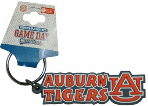 Game Day Outfitters NCAA Auburn Tigers Festive PVC Schlüsselanhänger von Game Day Outfitters