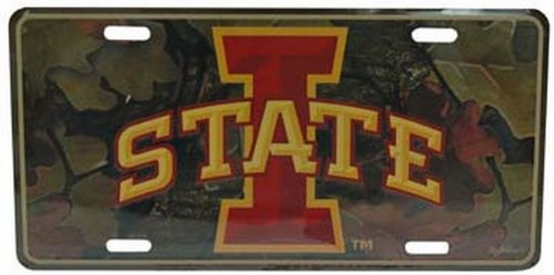 Game Day Outfitters NCAA Iowa State Cyclones Auto Nummernschild von Game Day Outfitters