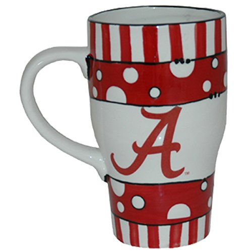 Game Day Outfitters NCAA LSU Tigers handbemalt Keramik Tasse, One size/20 oz, Multicolor von Game Day Outfitters