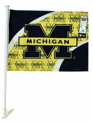 Game Day Outfitters NCAA Michigan Wolverines KFZ Flagge von Game Day Outfitters