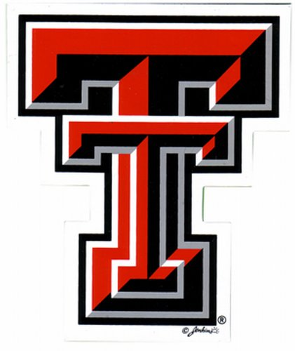 Game Day Outfitters NCAA Texas Tech Red Raiders Automagnet, Größe S von Game Day Outfitters