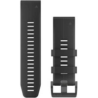 Garmin 26mm QuickFit Silicone Watch Band - Schwarz von Garmin