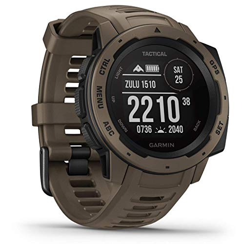 Garmin Instinct Tactical Outdoor-Smartwatch Hellbraun 010-02064-71 von Garmin
