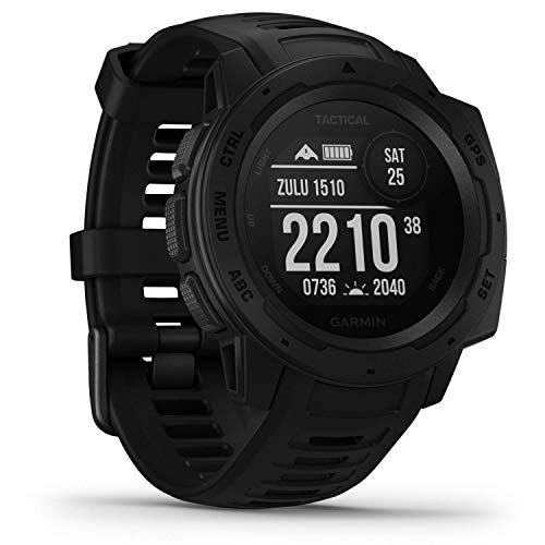 Garmin Instinct Tactical Outdoor-Smartwatch Schwarz 010-02064-70 von Garmin