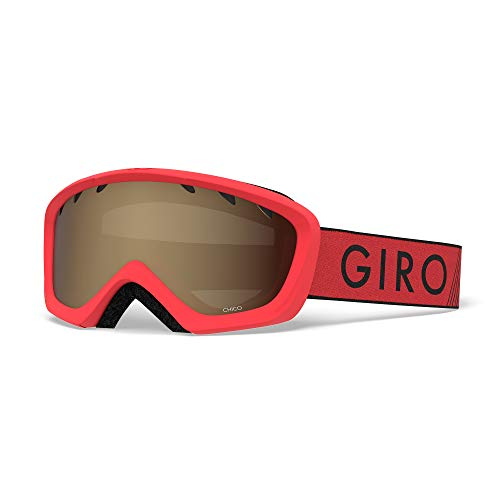 Giro Kinder Chico Skibrille, red/Black Zoom, S von Giro