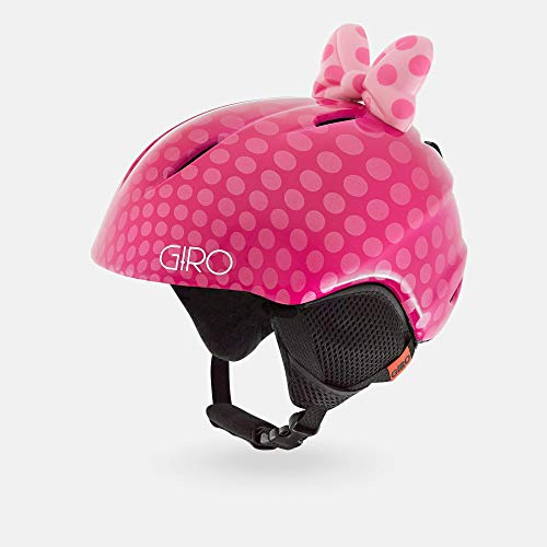 Giro Snow Unisex Jugend Launch Plus Skihelm, pink Bow Polka dots, XS von Giro