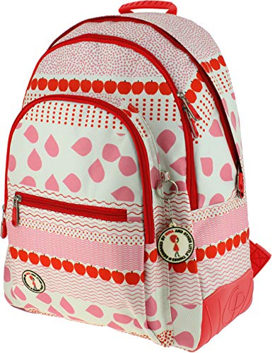 Grafoplás 37500120 Nina and Other Little Things Rucksack, groß, 32 x 42 x 18,5 cm von Grafoplás