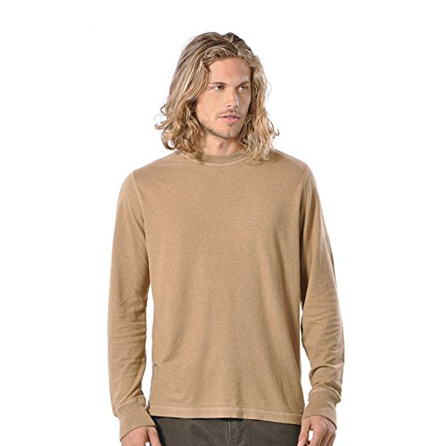 Gramicci Herren Endurance Long Sleeve Tee, Herren, Wheat Brown von Gramicci