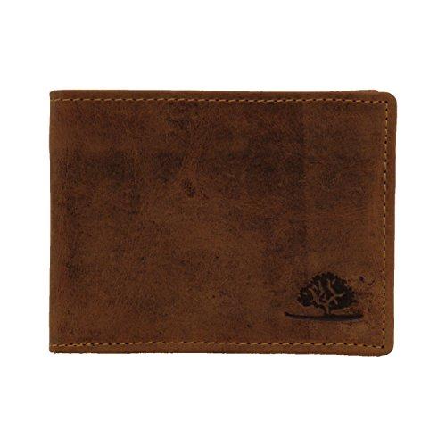 878335d05d747 Greenburry Vintage 1661-25 Leder Minibörse Geldbörse Portemonnaie ohne  Münzfach - by ModaStore de